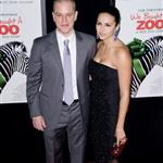 Matt Damon and his wife Luciana Barroso at the New York premiere of We Bought a Zoo 100494