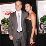 Matt Damon and his wife Luciana Barroso at the New York premiere of We Bought a Zoo 100495
