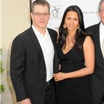 Matt Damon and wife Luciana at the Freeing Voice Changing Lives Benefit Gala 87128