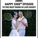 Matt Damon Sarah Silverman take out ad in Variety to congratulate Jimmy Kimmel on 1000th episode 19050