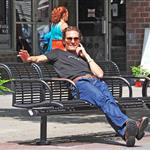 Matthew McConaughey hangs out in New York City 124046