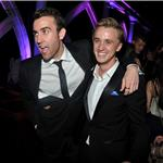 Matthew Lewis and Tom Felton New York July 2011 100892