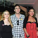 Evanna Lynch, Matthew Lewis, Natalia Tena at Harry Potter And The Deathly Hallows: Part 1 - DVD signing held at HMV 90862