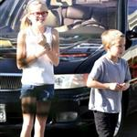 Ryan Phillippe takes his kids Ava and Deacon to IHOP for breakfast 77435