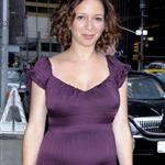 Maya Rudolph pregnant for second time at Letterman 39033