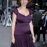 Maya Rudolph pregnant for second time at Letterman 39031