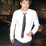 John Mayer a few days ago leaving Katsuya 46467