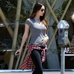 Megan Fox leaves a nail salon in Los Angeles 116847