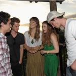 Max Minghella, Andrew Garfield, Olivia Wilde, Kate Mara and  Garrett Hedlund attend the Opening Night Reception for the 2011 Maui Film Festival  87677