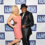 Megan Hilty attends the 'Leap Of Faith' Broadway Opening Night with Ben Vereen 113069