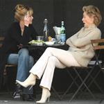 Sharon Stone and Melanie Griffith having lunch  33952