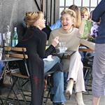 Sharon Stone and Melanie Griffith having lunch  33957