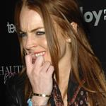 Lindsay Lohan cranked up and all over Ali Lohan at some party 38451