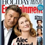 Meryl Streep Alec Baldwin promote 'It's Complicated' in Entertainment Weekly 50304