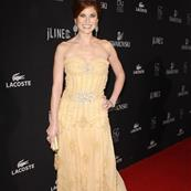 Debra Messing wears a tiara at the Costume Designers Guild Awards  33055