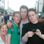 Jonathan Rhys Meyers celebrates birthday at U2 concert in Dublin 43671