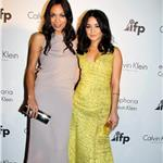 Rosario Dawson and Vanessa Hudgens at the Calvin Klein party Cannes 2011 85316