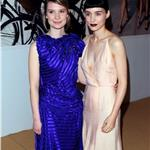 Mia Wasikowska and Rooney Mara at the CFDA Awards 2011 98433