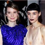 Mia Wasikowska and Rooney Mara at the CFDA Awards 2011 98434