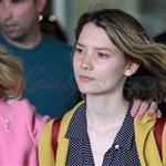 TIFF Photos: Mia Wasikowska arrives in Toronto. Photos from PUNKD Images 93597