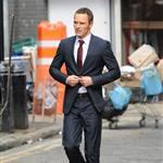 Michael Fassbender on the set of The Counselor in London 122161