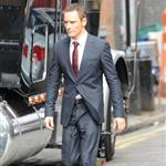 Michael Fassbender on the set of The Counselor in London 122163