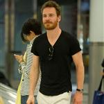 Michael Fassbender arrives at JFK airport in NYC 116879