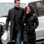 Michael Fassbender and Nicole Beharie out in New York  109014
