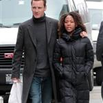 Michael Fassbender and Nicole Beharie out in New York  109017