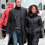 Michael Fassbender and Nicole Beharie out in New York  109018
