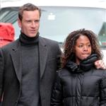 Michael Fassbender and Nicole Beharie out in New York  109019