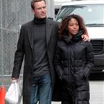 Michael Fassbender and Nicole Beharie out in New York  109020