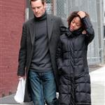 Michael Fassbender and Nicole Beharie out in New York  109021