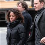 Michael Fassbender and Nicole Beharie out in New York  109023