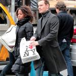 Michael Fassbender and Nicole Beharie out in New York  109025