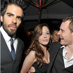 Eli Roth, Rose McGowan and Michael Fassbender attend GQ's 2011 Men of the Year Party 98690