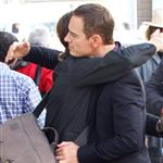 Michael Fassbender shoots The Counselor in London 126688