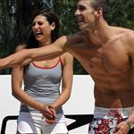 Michael Phelps and Stephanie Rice rumoured to be publicly making out at Speedo party 23874