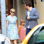 Michelle Williams and Matilda Ledger out shopping with Jason Segel in New York City 120566