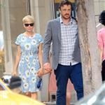 Michelle Williams and Matilda Ledger out shopping with Jason Segel in New York City 120571
