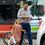 Jason Segel out in New York City with Matilda Ledger  120578