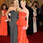 Michelle Williams with Busy Philipps at the 84th Annual Academy Awards 107411