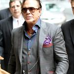 Mickey Rourke at Letterman 60629