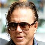 Mickey Rourke at Letterman 60631