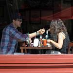 Ahston Kutcher and Mila Kunis in New York  126739