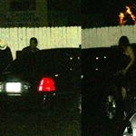 Ashton Kutcher and Mila Kunis sneak out of Giorgio Baldi restaurant after a romantic dinner in Santa Monica 118465