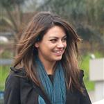 Mila Kunis after lunch with a friend  75612