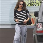 Mila Kunis leaves the gym  112456