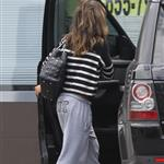 Mila Kunis leaves the gym  112463