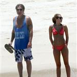Miley Cyrus on holiday with dad Billy Ray in Mexico 61803